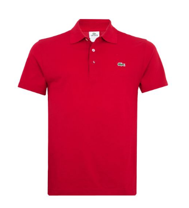 b081cc4ce241f Camisa Polo Lacoste Yucca Vermelho - ESTILO IMPORTADO-DERSON IMPORTS
