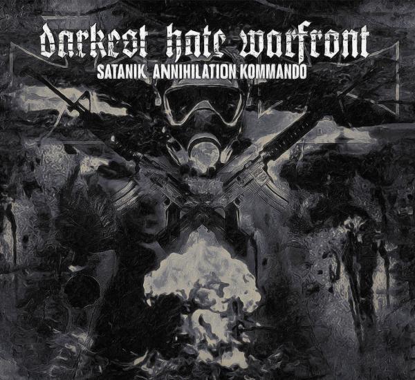 CD DARKEST HATE WARFRONT - Satanik Annihilation Kommando.