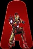 Alfabeto - Homem de Ferro 2 - PNG