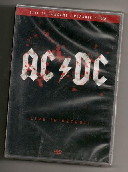 DVD - AC/DC - Live in Detroit