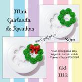Mini Guirlanda de Rosinhas Cód 1112