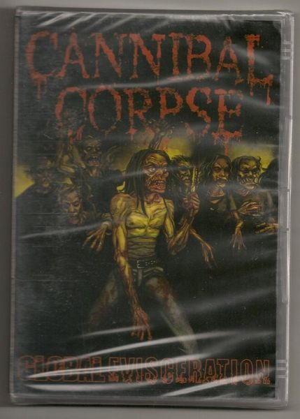 DVD - Cannibal Corpse - Global Evisceration
