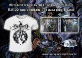 Pacote MYRKGAND Camisa branca + 2 CDs + Máscara facial (FRETE GRÁTIS)