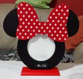 Porta Retrato Minnie Vermelha