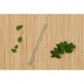 Kit 1 Canudo Reto BeeGreen + escovinha de limpeza