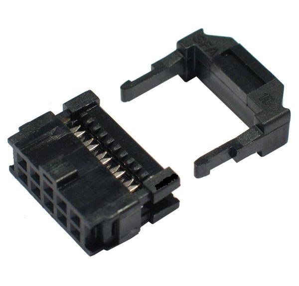 COD 1363 - CONECTOR LATCH 10VIAS