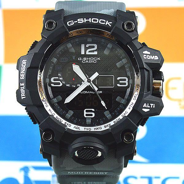 84ffc4acab8 Relógio Casio G-Shock Mudmaster Preto Pulseira Camuflada Masculino à prova  d´água +