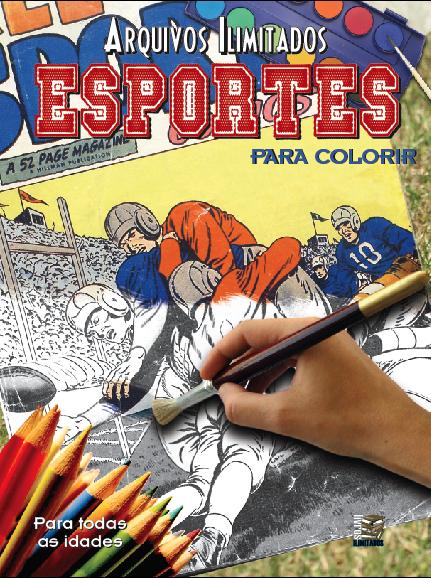 Arquivos Ilimitados para colorir: Esportes