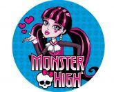 Papel Arroz Monster High Redondo 006 1un