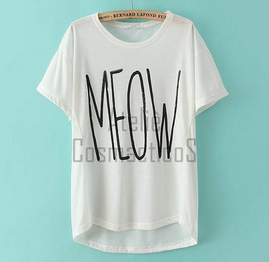 FOREVER 21 T-Shirt Meow