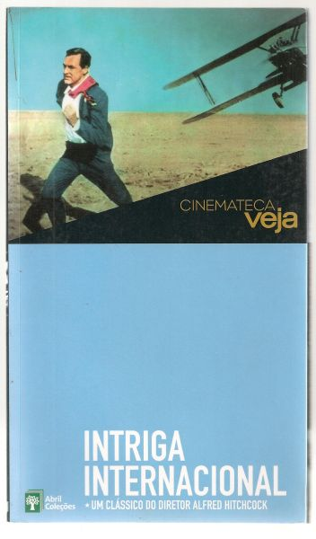 DVD - Cinemateca Folha - Intriga Internacional