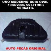 TANQUE COMBUSTIVEL PLASTICO CODIGO 9108-P FIAT UNO/PREMIO/DUNA/ELBA/FIORINO 1984/2006 ALCOOL/GASOLI