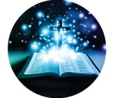 Papel Arroz Religioso Redondo 009 1un
