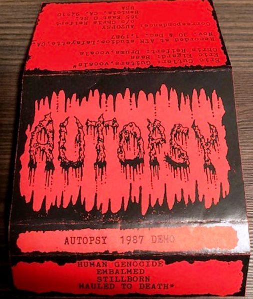 AUTOPSY - 1987 DEMO - CASSETE