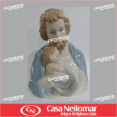 080005 - Imagem de Louça Busto Jesus