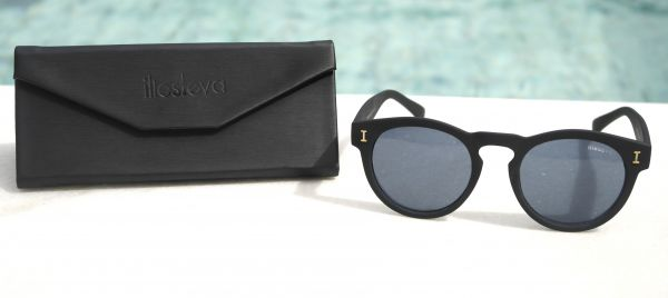 Óculos de sol feminino Illesteva Leonard Preto Inspired - Daf Store a7f0056f09