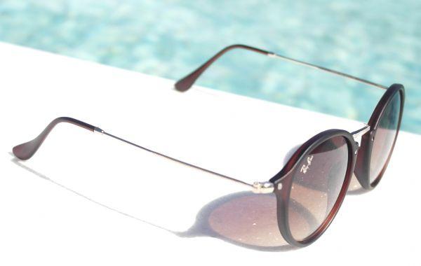 Óculos de sol feminino Ray ban Round Retrô 2447 Inspired - Daf Store dc703f3942