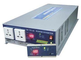 3000W Inversor Onda Senoidal Modificada 24VDC/127VAC