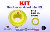 KIT BUCHA E ANEL B 12 + GAMO