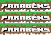 Papel Arroz Minecraft Lateral A4 012 1un
