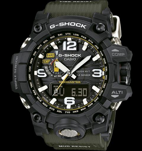 539ad4f480a Relógio G-Shock Esportivo Mundmaster Verde Musgo - Imperius Shop