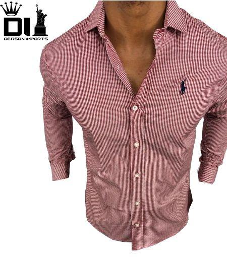 Camisa Social Ralph Lauren Masculina Original - ESTILO IMPORTADO ... b34ac8d727f34