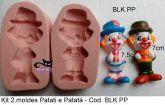 Kit Palhaço Patati e Patatá
