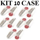 Kit 10 Un.com 7 Pedras Cada Para Isqueiro Zippo