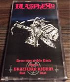 BLASPHEMY - Desecration of Sao Paulo - Live in Brazilian Ritual Third Attack - Cassete