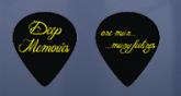 Palheta Personalizada - Logo DEEP MEMORIES