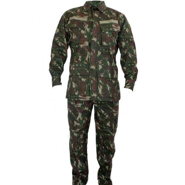 5d73d26f4513d Farda De Combate Camuflada Exército Brasileiro - Fort Tatico
