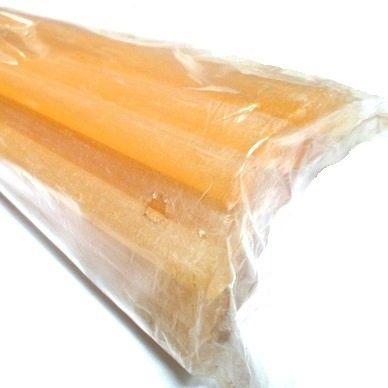 Bastão cola quente silicone amarela super forte 30cm 2 Und
