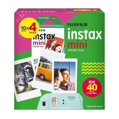 Kit Filme Instax Mini 40Fotos