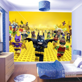 Adesivo de Parede Batman Lego
