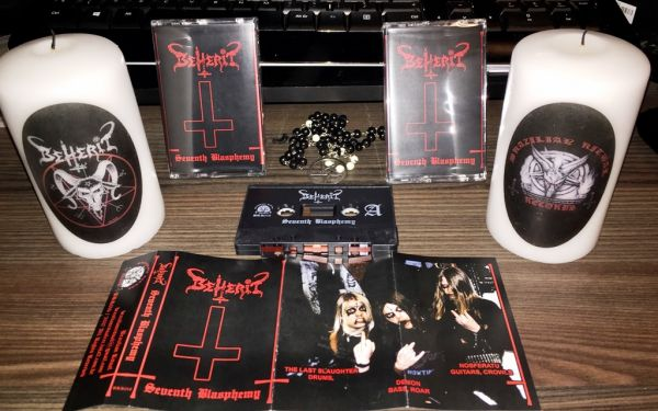 BEHERIT - SEVENTH BLASPHEMY - CASSETE