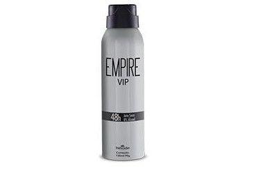DESODORANTE AEROSOL EMPIRE VIP ANTITRANSPIRANTE HINODE 150 ml