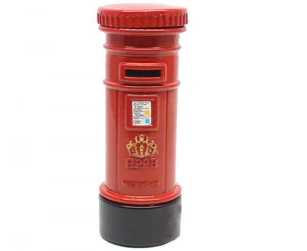 Apontador Correio Londrino Lápis Londres Retrô Post Office