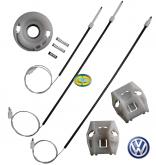 Kit Reparo Máquina Vidro Elétrico VW Golf 4P 98 a 13 Dianteiro - CD7850