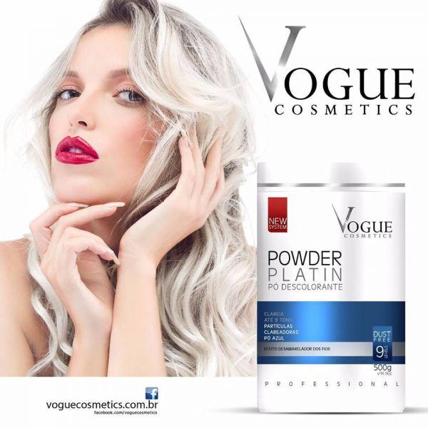 Powder Platin Pó Descolorante Clarea até 9 Tons Vogue - CleMagic ... 6e2af92f13