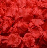Pétala Vermelha de Poliéster 100 Peças