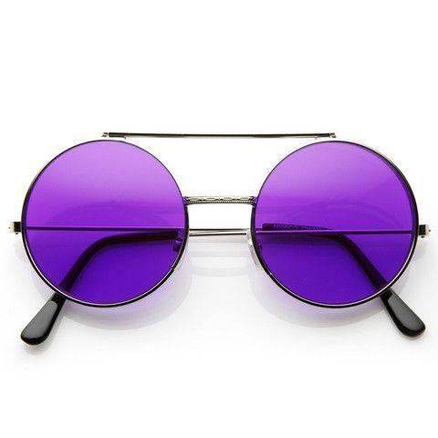 f57573d65059f Óculos Redondo Flip Lente Colorida - Pandora s Store