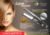 Prancha Nano Titânio Lizze Premium- 465º F