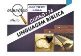 74. LINGUAGEM BÍBLICA