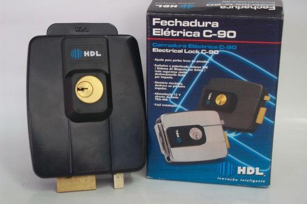 Fechadura Elétrica HDL C-90  12v