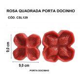ROSA QUADRADA PORTA DOCINHO