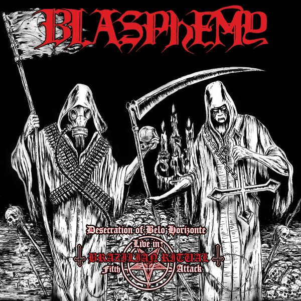 Blasphemy - Desecration of Belo Horizonte Live in Brazilian Ritual Fifth Attack - CD + DVD)
