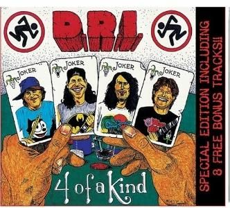 D.R.I.  -  '4 of a Kind'