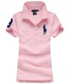 Camisa Polo Feminina Ralph Lauren - Rosa Claro 9dd450daee87f