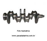 Virabrequim Motor Niva 1.6 Retificado C/ Medida Mancal e Biela 0,25 (usado Retificado) ref. 0112