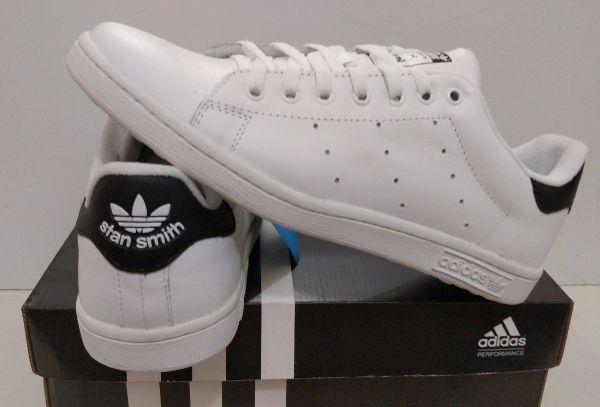 921bc15cca6 Tênis Adidas Stan Smith Branco c  Preto - Outlet Ser Chic